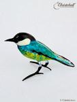 Vollglas-Vögelchen