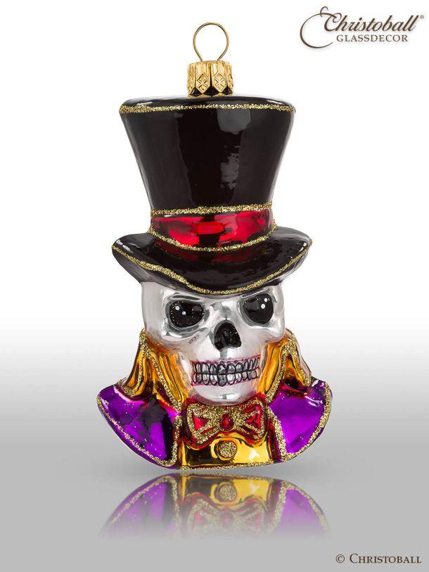 Weihnachtsform Halloween Schädel-Mann