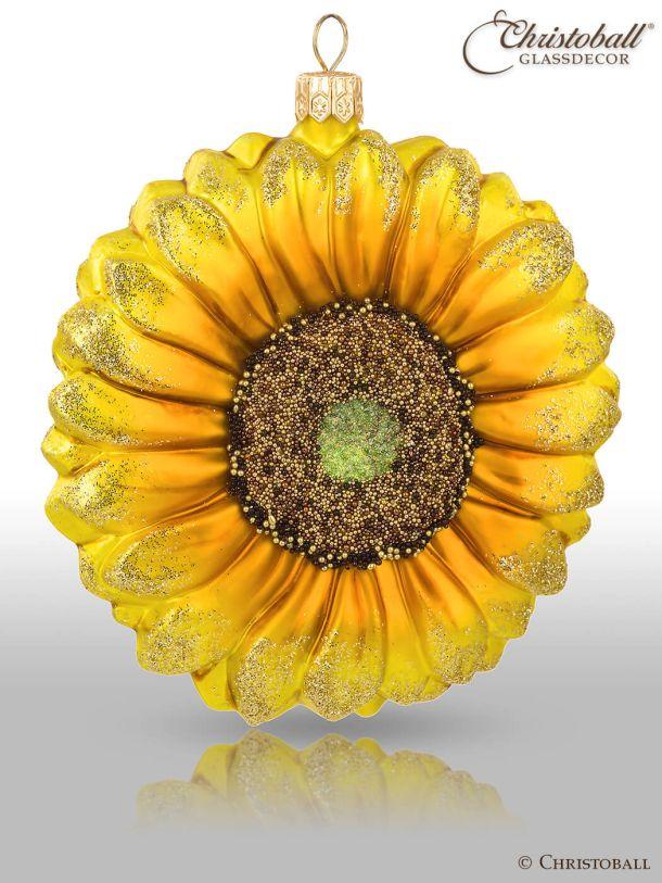 Christoball Weihnachtsform Sonnenblume