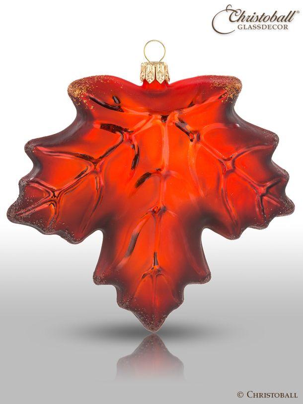 Weihnachtsform - Ahorn-Blatt