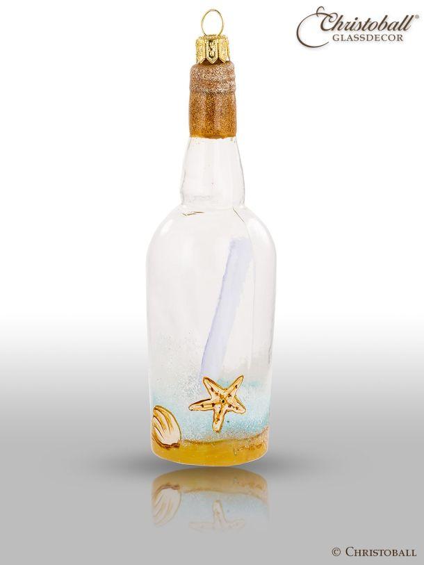 Weihnachtsform - Flaschenpost