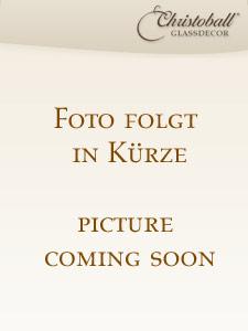 Pure Colour Weihnachskugel L Azteken-Gold-Braun