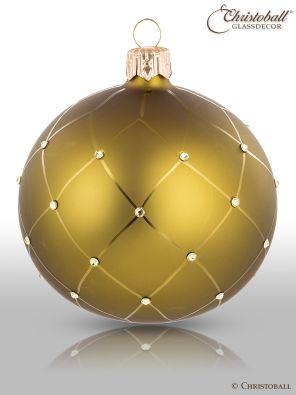 Coco´s Christbaumkugel Olivgrün