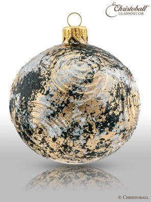 Organza Christbaumkugel - Ornamenta mit Kristallen
