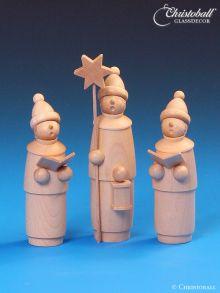 Schalling Kurrende Holzfiguren 3tlg natur