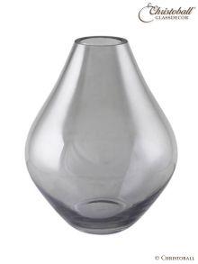 Vase aus Glas Beja Lüster Rauch