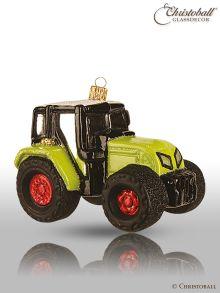 Christbaumkugel Traktor