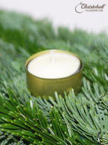 Advents-Teelichtstecker Gold
