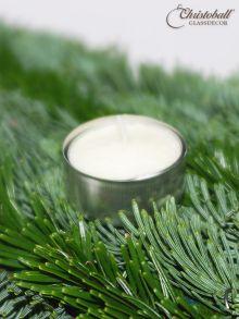 Advents-Teelichtstecker Silber