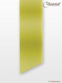Satinband 16mm Kiwi-Grün