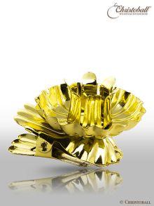 Baumkerzenhalter, Gold