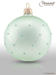 Coco´s Elegance Christbaumkugeln mit Swarovski Grün