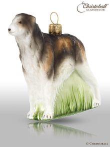 Weihnachtsform - Hund: Barsoi