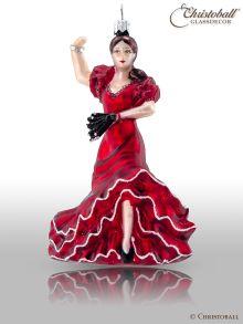Weihnachtsform - Carmen Flamenco Tänzerin