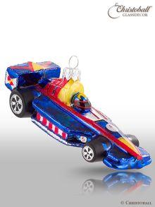 Formel 1 Rennwagen Blau-Rot-Gelb