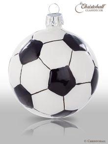 Weihnachtsform Fussball