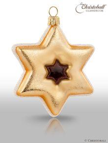 Weihnachtsform Plätzchen Stern