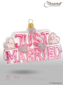 Weihnachtsform JUST MARRIED 1
