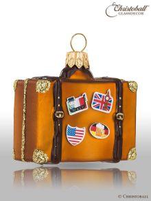 Weihnachtsform kleiner Reisekoffer
