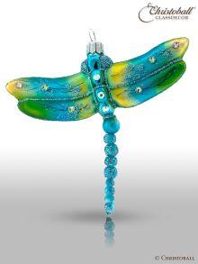 Christbaumform - Libelle, mit Swarovski-Kristallen