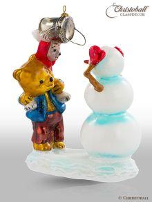 Mostowski Weihnachtsform Teddy Hase Schneemann 1