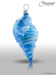 Weihnachtsform - Hell-Blaue Muschel