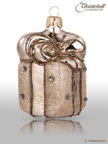Weihnachtsform - Geschenk Creme-Braun