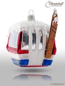 Weihnachtsform - Skigondel