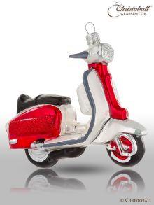 Weihnachtsform - Scooter / Motorroller - Rot-Weiss