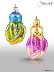 kleinere Formen Weihnachtskugel Oktopus Sortiment