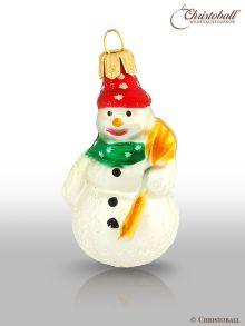 kleinere Formen Weihnachtskugel Schneemann