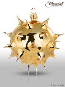 Glanzstück Surreal Weihnachtskugel Stern Gold