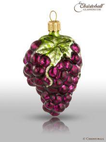 Weihnachtsform - Weintrauben