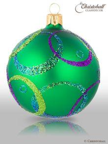 Hypnotic Christbaumkugeln Smaragd-Grün