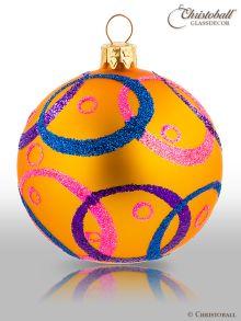 Hypnotic Christbaumkugeln Sunny Orange & Multicolor