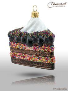 Weihnachtsform Schoko-Torte