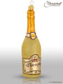 Weihnachtsform - Champagne-Flasche