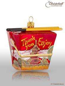 Weihnachtsform - Chinesische Take out Box