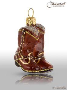 Weihnachtsform - Cowboy-Stiefel