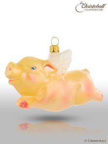 Weihnachtsform - Fliegendes Schweinchen