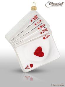 Weihnachtsform - Poker-Karten / Spielkarten 1