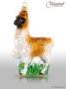 Weihnachtsform - Lama