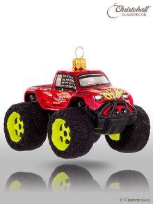 Weihnachtsform Monster Truck