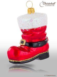 Christbaumkugel Weihnachtsform Nikolausstiefel