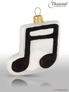 Weihnachtsform - Musiknoten