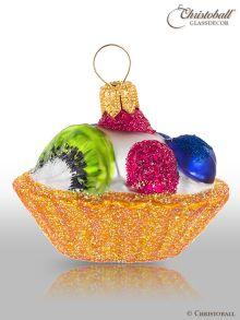 Christbaumkugel Weihnachtsform Obsttörtchen