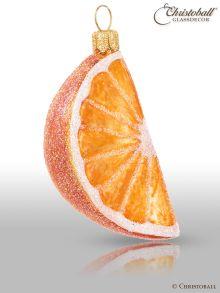 Christoball Weihnachtsform  Orange