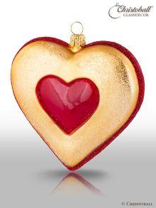 Weihnachtsform Plätzchen Herz
