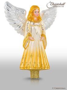 Christbaumspitze Engel Gold
