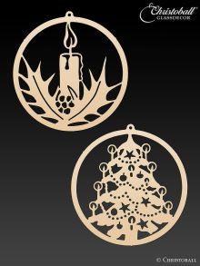 Metallkunst Weihnachtsset 1